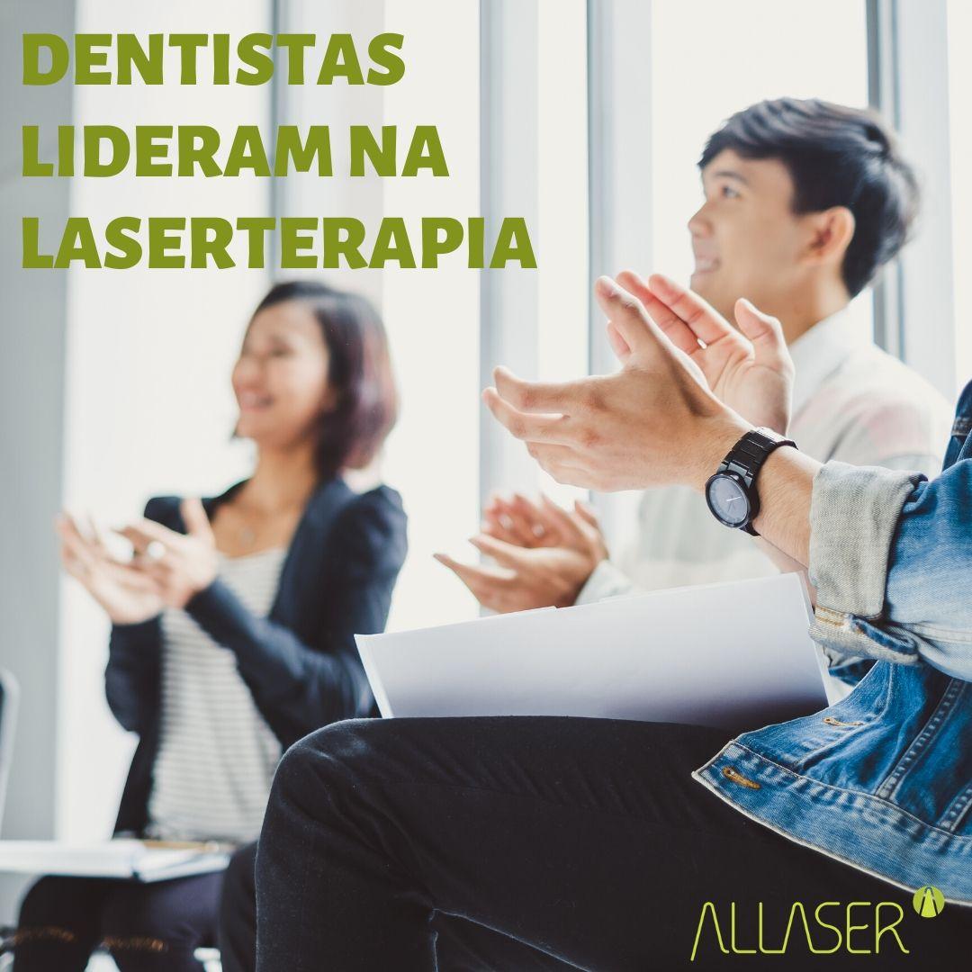 Dentistas lideram na Laserterapia