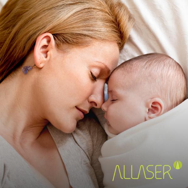 Você sabe como a Laserterapia pode ajudar as mamães?